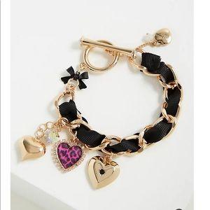 Nwt Betsy Johnson Torrid Heart Bracelet